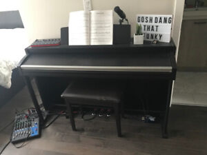Korg Concert C- 520 Electric Piano / Keyboard with 88 Keys