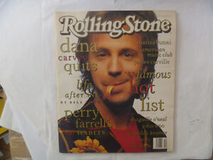 8 ROLLING STONE Magazines - The X-Files, Huey Lewis, Dana Carvey