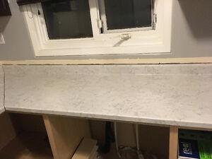 New laminate countertops