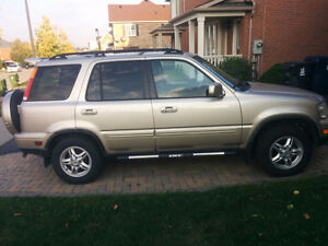 2001 Honda CR-V Leather SUV, Crossover, mint cindition