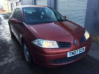 Bargain Renault Megane vvt 111, long MOT no advisories, good miles