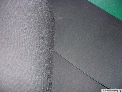 Gummiband Bandage Stützgürtel Meterware schwarz 25,5cm breit MC29