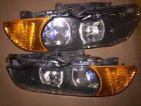 BMW e46 coupe pre facelift headlights