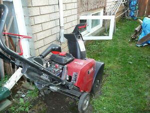 "Sears Craftsman Single Stage SnowThrower 22"" Gatineau Ottawa / Gatineau Area image 2"
