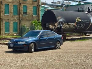 Blue Saab 9-3 Stratford Kitchener Area image 2