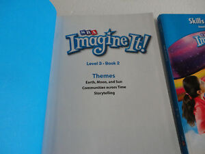 SRA Imagine It Textbook and Skills Practice 2 Annotated Edition London Ontario image 2