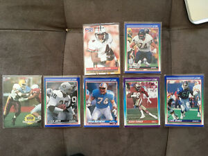 7 Foot Ball cards.