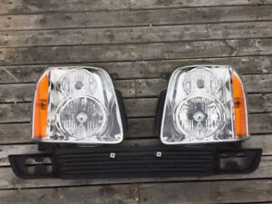 GMC Yukon/Suburban Headlights