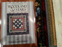 Thimbleberries Quilt Kit - Woodland Stars