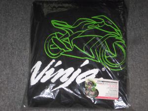 kawasaki racing team or ninja hoodies
