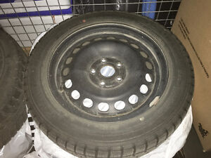 Winter Tires with Rims 205/55R16