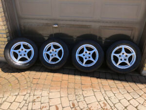 2003 Honda Accord Rims and Tires (fits 2009 Civic)