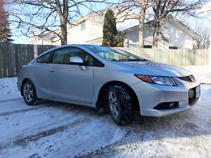 2012 Honda Civic EX Coupe (2 door) - $9750