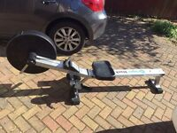 Roger black rower nearly new only used handful of times