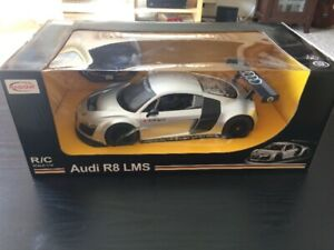 Audi R8 LMS 1:14 R/C Car (silver)--Brand New and Sealed!!