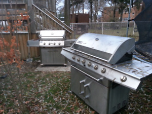Two BBQ's
