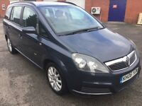 Vauxhall zafira 7 seater with only 1 former keeper