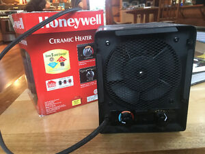 Honeywell electric space heater