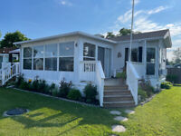 Sherkston Shores Cottage Rental comes with golf cart