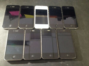 iPhone4S locked to Rogers/Chatr or Telus or Bell $100
