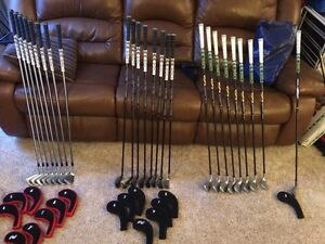 RH TaylorMade irons. Prices listed in description