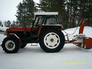 "tractor and 96"" snow blower for sale"