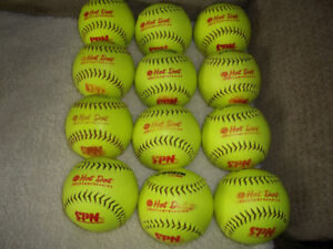 Gently used Hot Dot Softballs