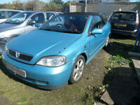 VAUXHALL ASTRA CABRIOLET DAMAGED REPAIRABLE SALVAGE