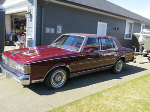 Oldsmobile Classic 1981 Cutlass Supreme Brougham 4 Dr. sedan.