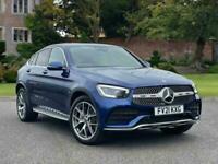 2021 Mercedes-Benz GLC DIESEL COUPE GLC 300d 4Matic AMG Line Prem Plus 5dr 9G-Tr