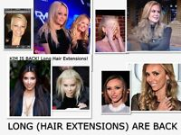 """HAIR EXTENSIONS - """"RUSSIAN"""" GUARANTEED & REUSE TO SAVE $$"""