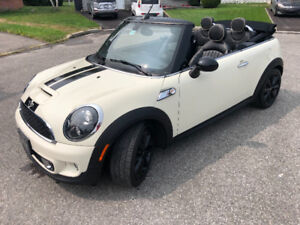 mini cooper s convertible 2014 automatique  41000km