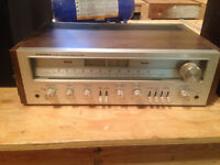 Vintage Pioneer Receiver and JBL Speakers