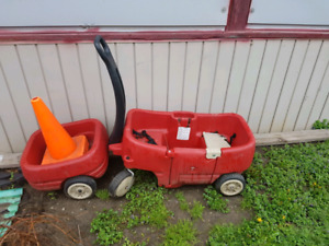 Little tykes wagon and trailer