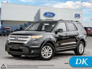 2014 Ford Explorer XLT AWD w/Leather, SYNC, Power Heated Seats,