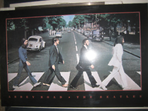Beatles, Abby Road hardback poster