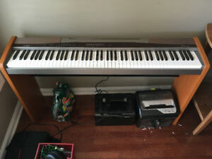 Casio electric piano full keyboard