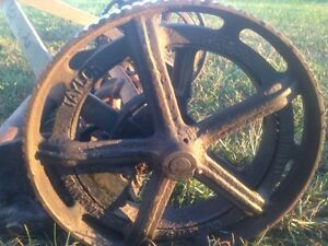 Antique Taylor Forbes push lawnmower