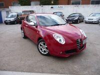 2009 Alfa Romeo MiTo 1.4 16V Lusso, 12M MOT, LOW MILEAGE, EW CD RCL AC
