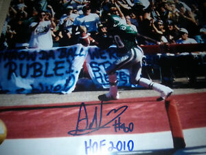 SASKATCHEWAN ROUGHRIDERS AUTOGRAPHED CFL FOOTBALL FAN PACK Edmonton Edmonton Area image 2