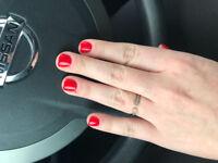 Pose d'ongles résine et poudre