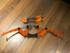 Zing Z-Tek bow and arrows