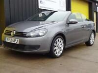 2012 (12) Volkswagen Golf 1.6 TDi S Convertible Diesel £30 road tax