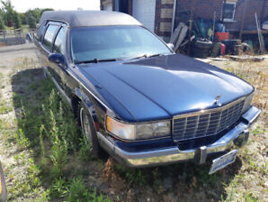 1996 Cadillac Fleetwood by S&S Hearse