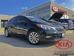 2015 Kia Forte LX+ | Beautiful Shape | Low KM!
