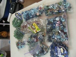 Decorated Assorted Glass Stones and Gems