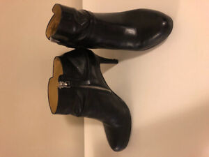 Nine West Leather Ankle Boots- Size 7