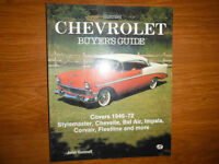 1946-1972 Chevrolet Guide Stylemaster Chevelle Bel Air Impala