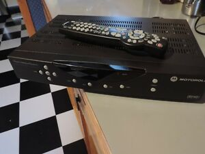 For Sale - Motorola DCT 2524/1631/AL cable TV box