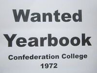 1972 Yearbook. Confederation College